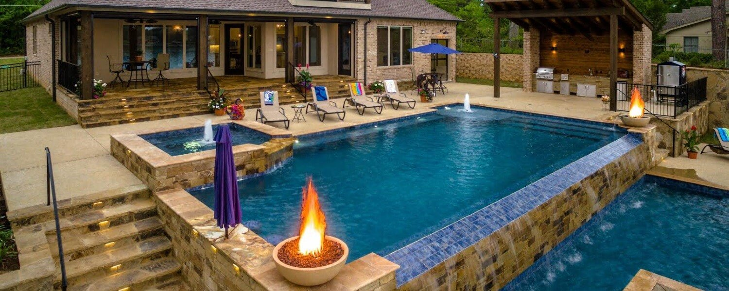 Pool Builder Longview | Outdoor Living Hallsville | Spa Design East ...